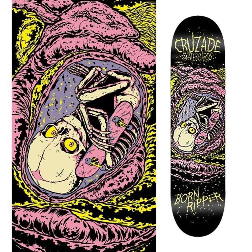 Cruzade Skateboards - Serie Ripper 1