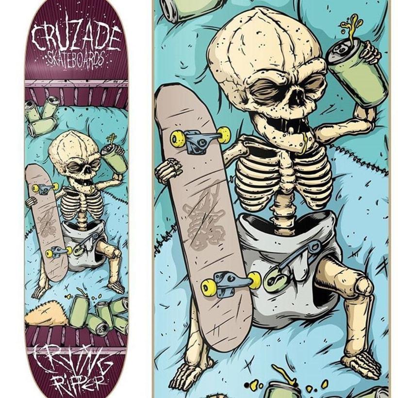 Cruzade Skateboards - Serie Ripper 2