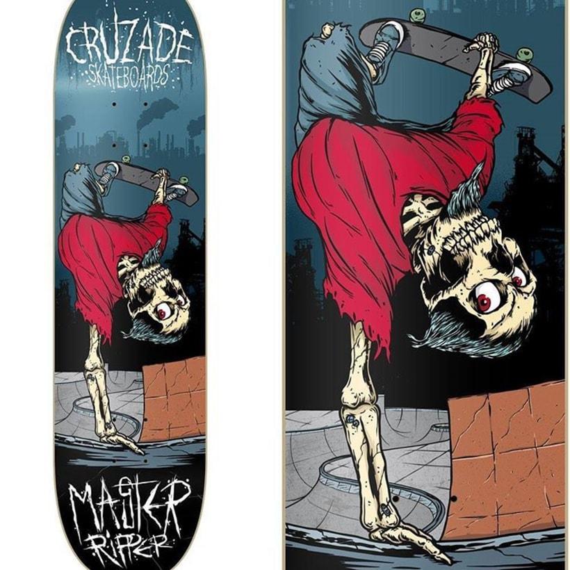 Cruzade Skateboards - Serie Ripper 3