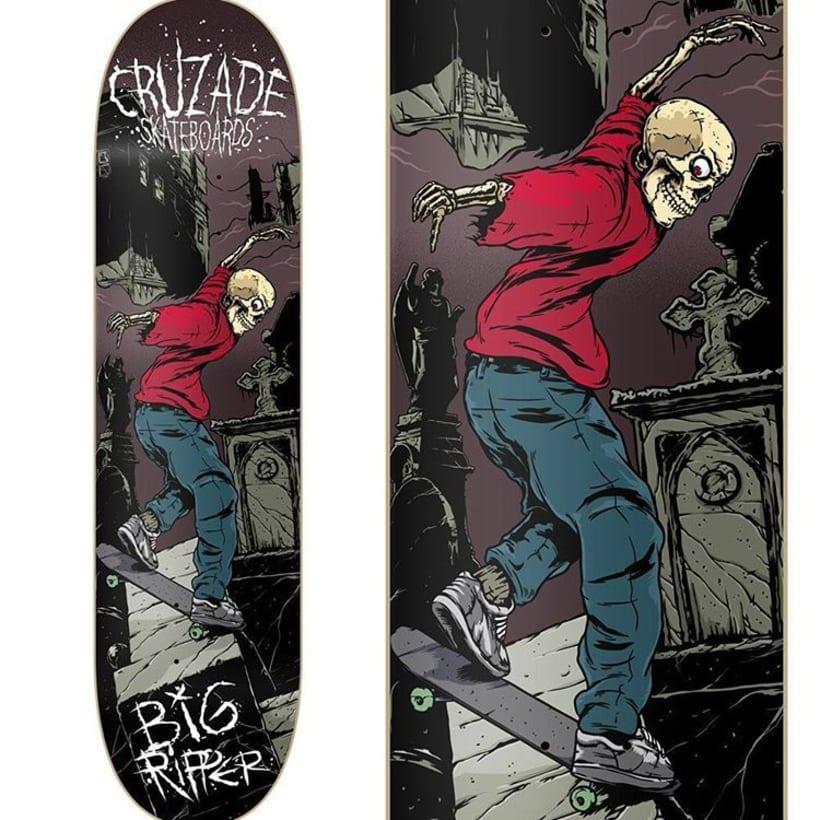 Cruzade Skateboards - Serie Ripper 4