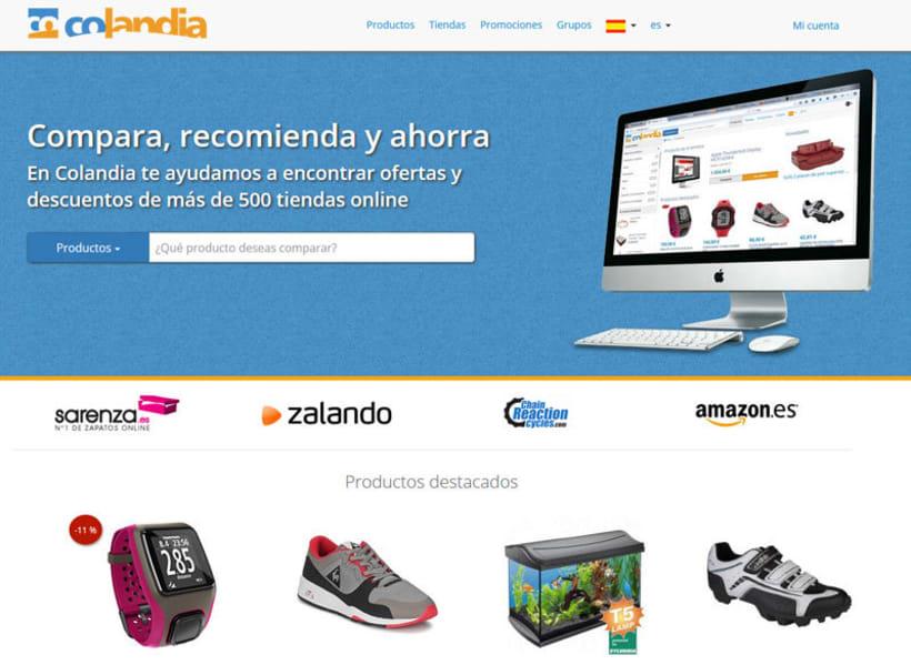Colandia - Web de compra social -1