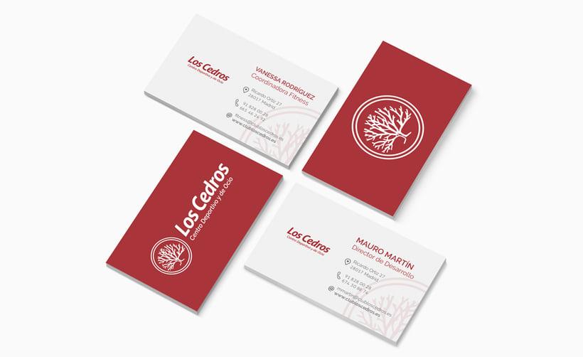 Los Cedros - Branding corporativo 3