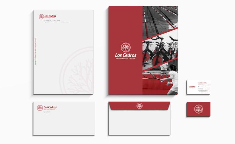 Los Cedros - Branding corporativo 2