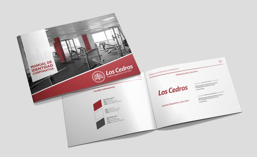 Los Cedros - Branding corporativo 4