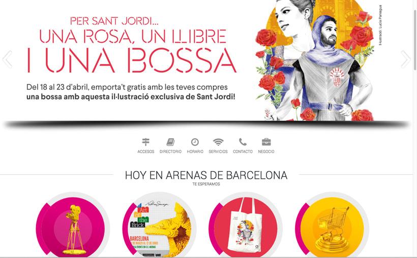 Sant Jordi - CC Arenas BCN 4