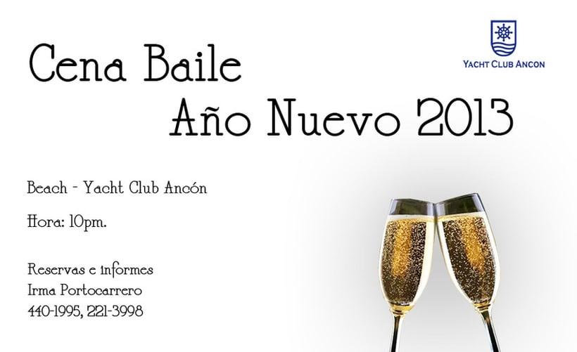 Afiches Yacht Club Ancón 4