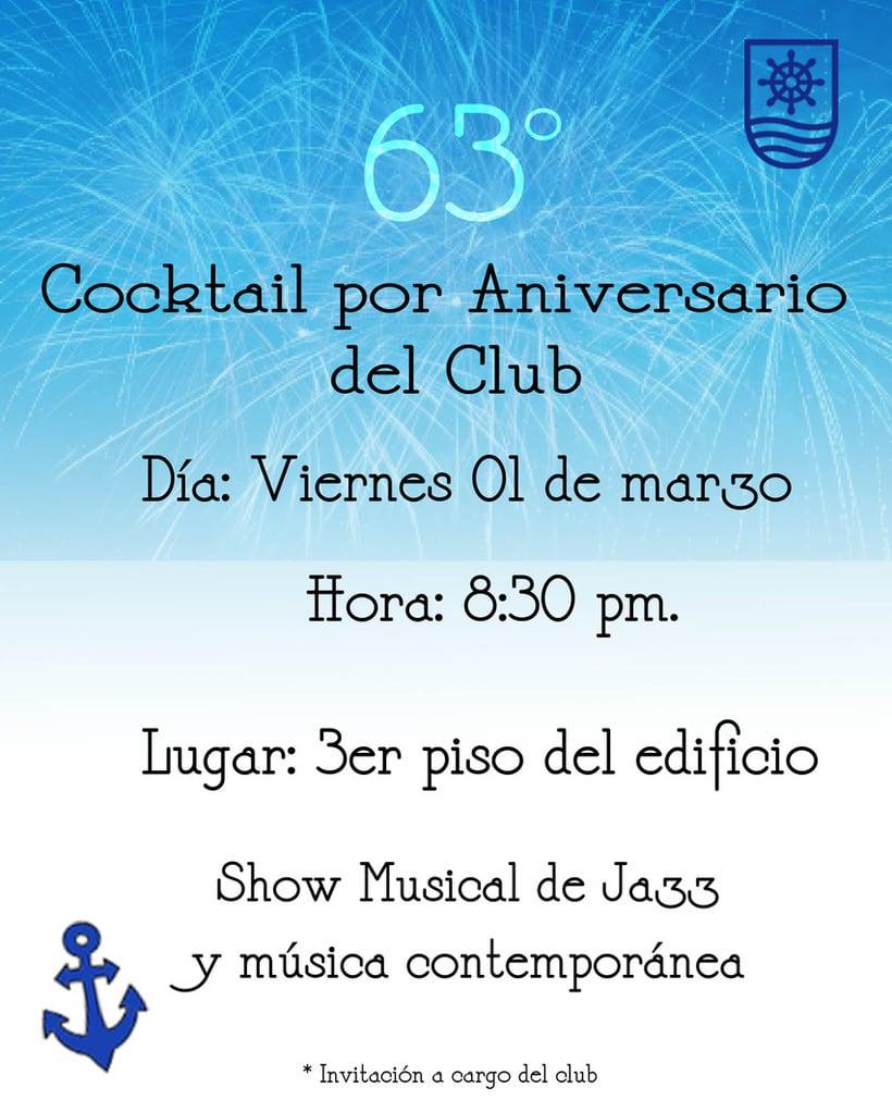Afiches Yacht Club Ancón 6
