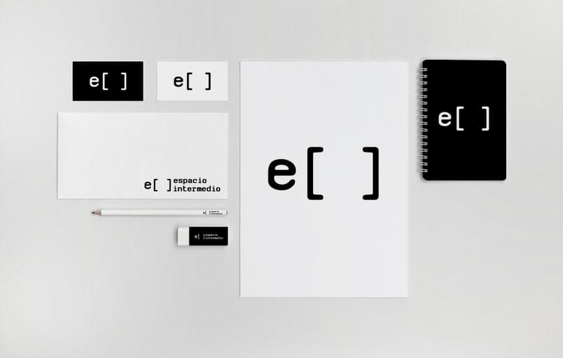 """Diseño identidad corporativa """"Espacio intermedio"""" 0"""