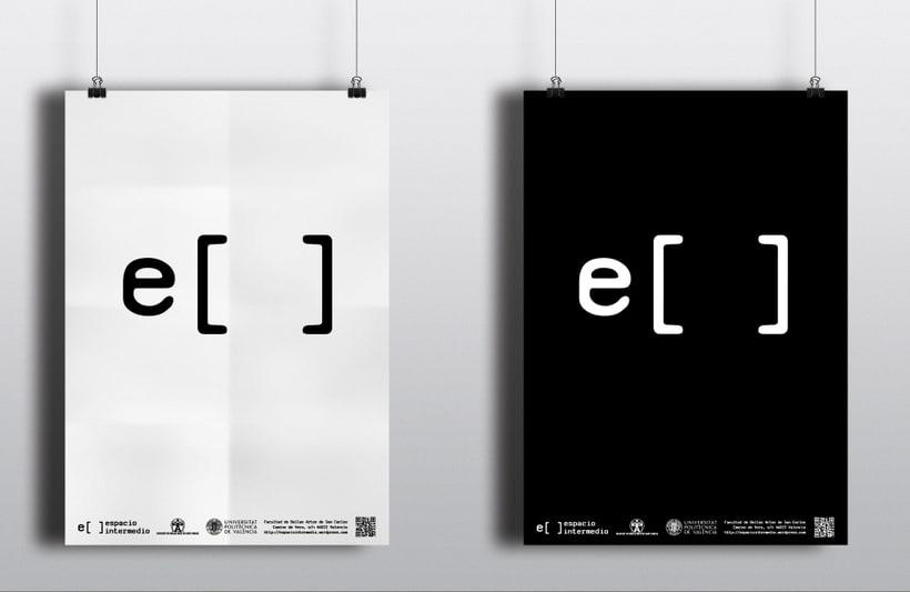 """Diseño identidad corporativa """"Espacio intermedio"""" 1"""
