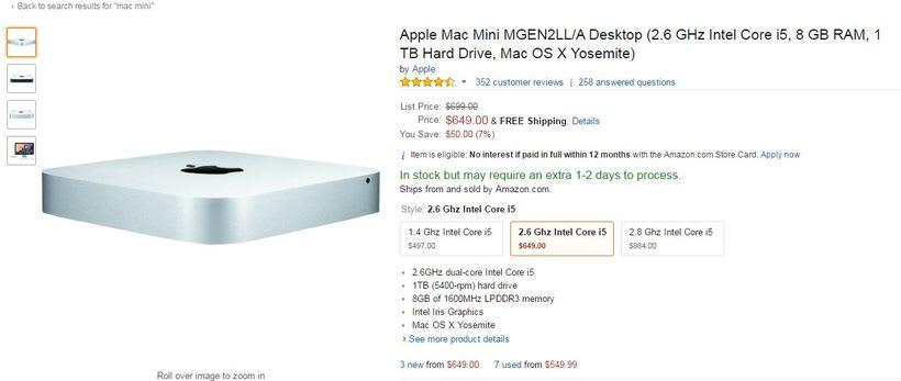 Me recomiendan una Mac Mini 2014 para diseño? 1