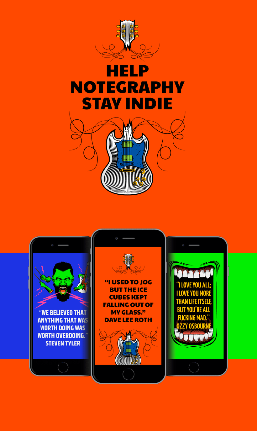 Notegraphy - Stay Indie 2