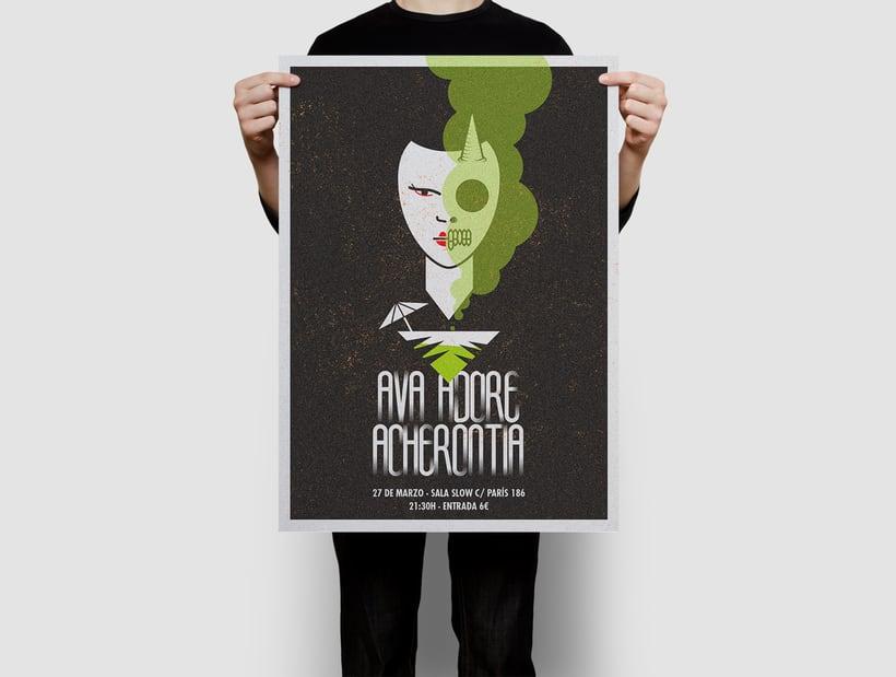 Acherontia/Ava Adore poster 5