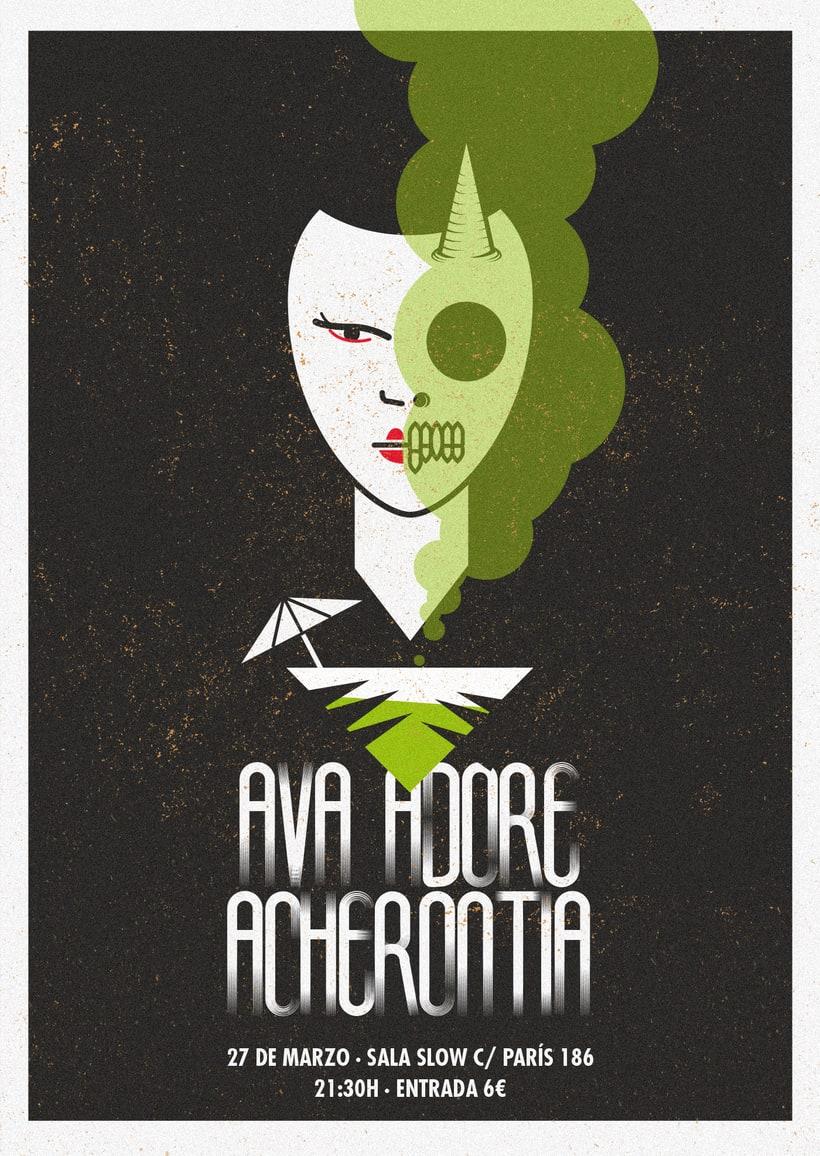 Acherontia/Ava Adore poster 6