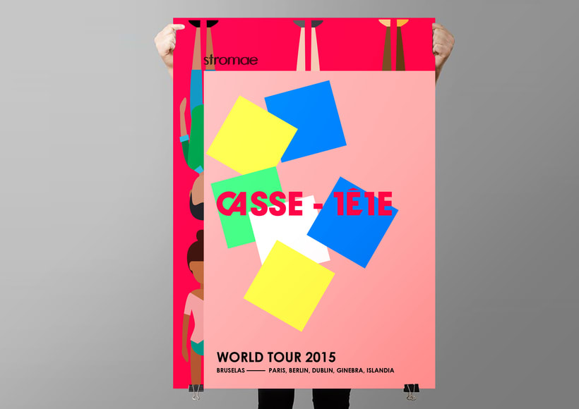 World Tour (ficticio): 'Casse-tête' 6