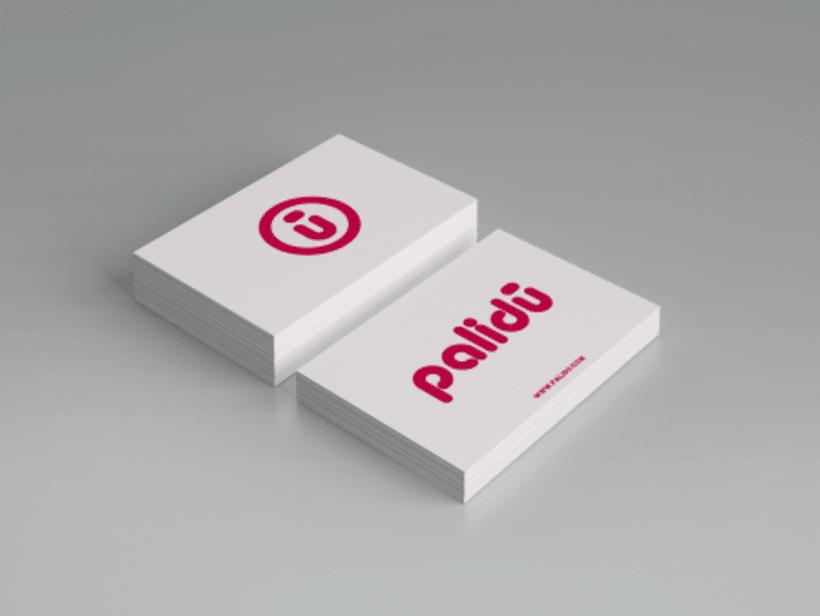 """Naming y Diseño de logotipo """"Palidú""""  1"""