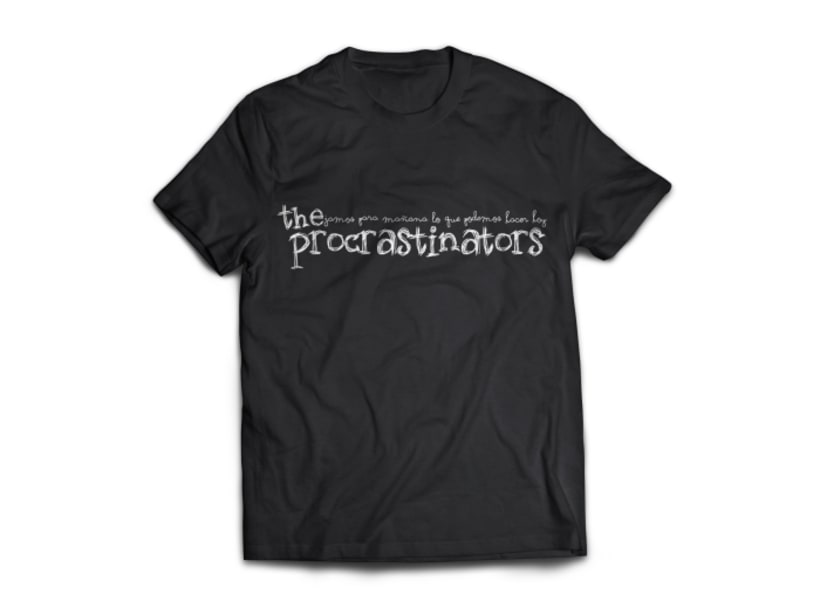 "Diseño de Identidad corporativa ""The Procrastinators"" 1"