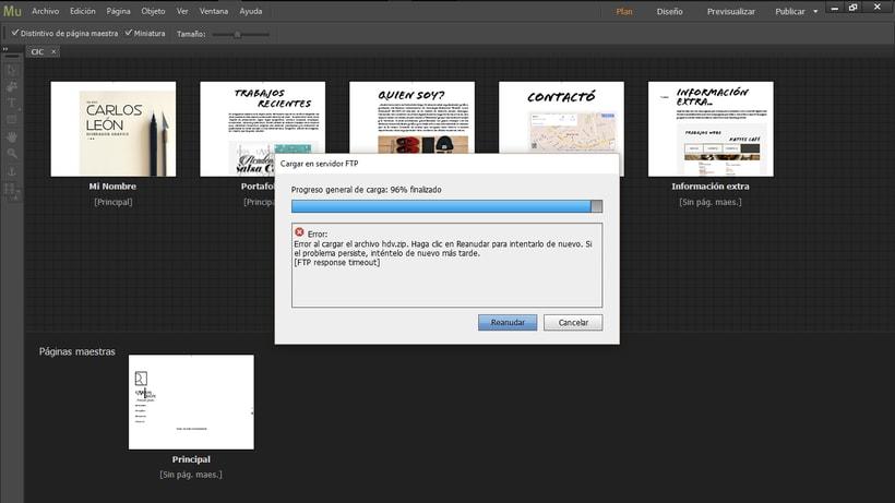 Muse no me responde a la hora de vincular un archivo en PDF - ayuda! 7