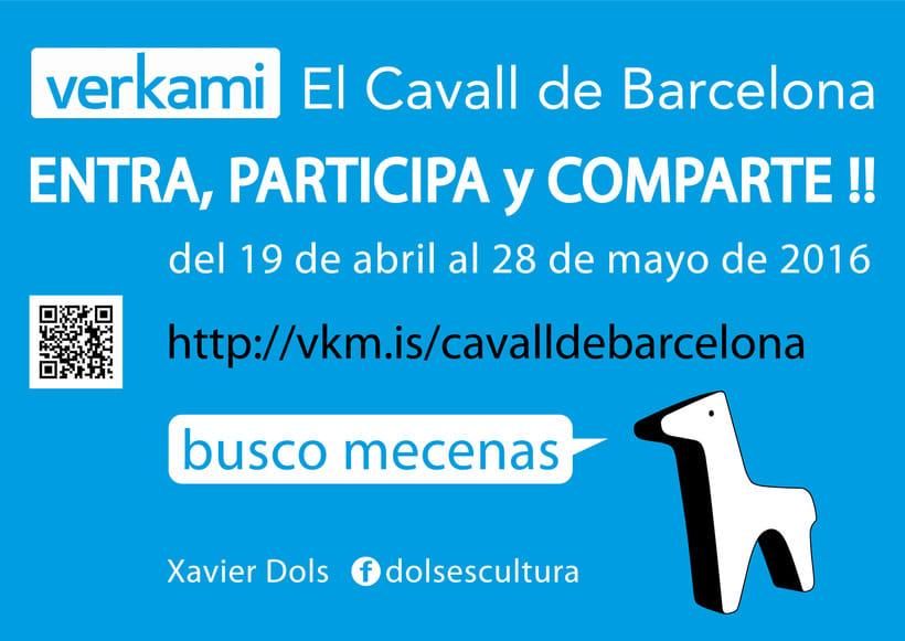 Crowdfunding El Cavall de Barcelona 1