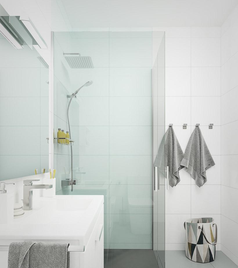 Infografía baño Mint&White 0