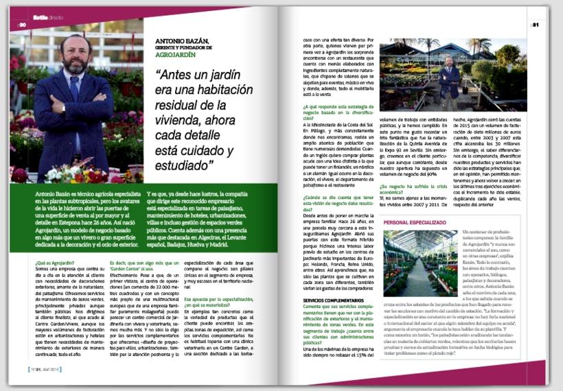 Entrevista Vida Económica, director Garden Centre 0