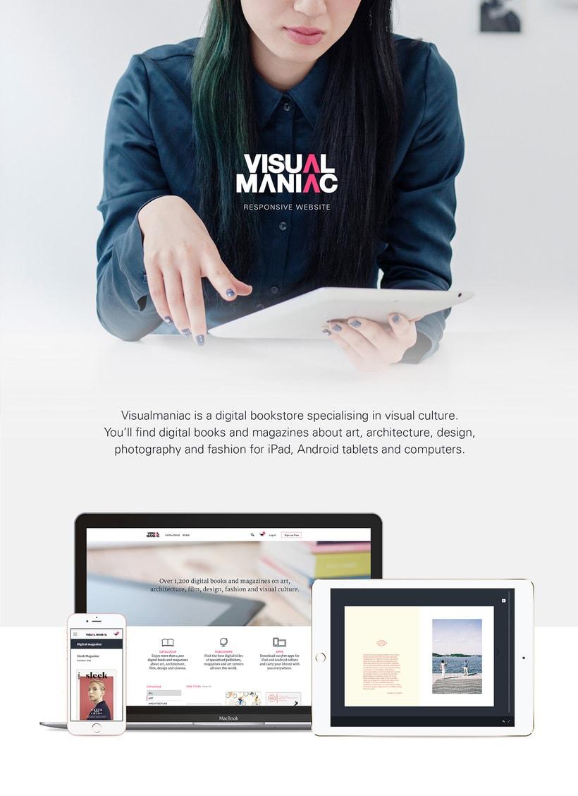 Visualmaniac digital bookstore -1