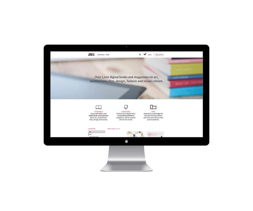 Visualmaniac digital bookstore 1