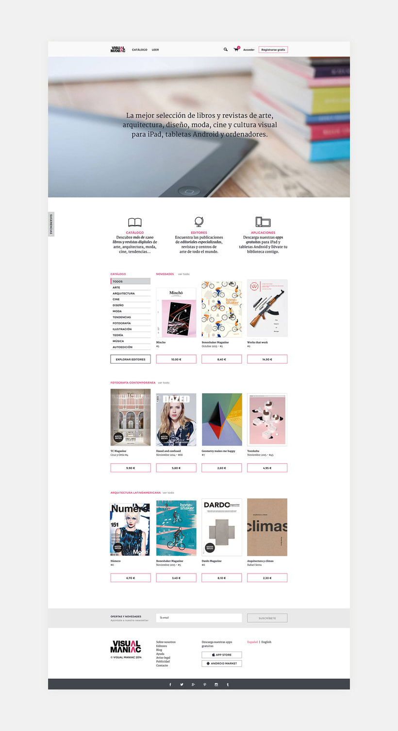Visualmaniac digital bookstore 3