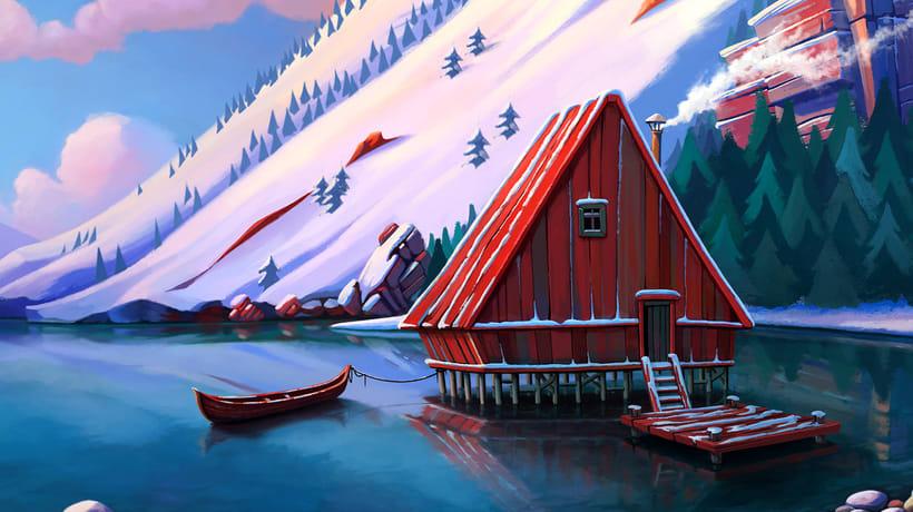 cabin lake 1