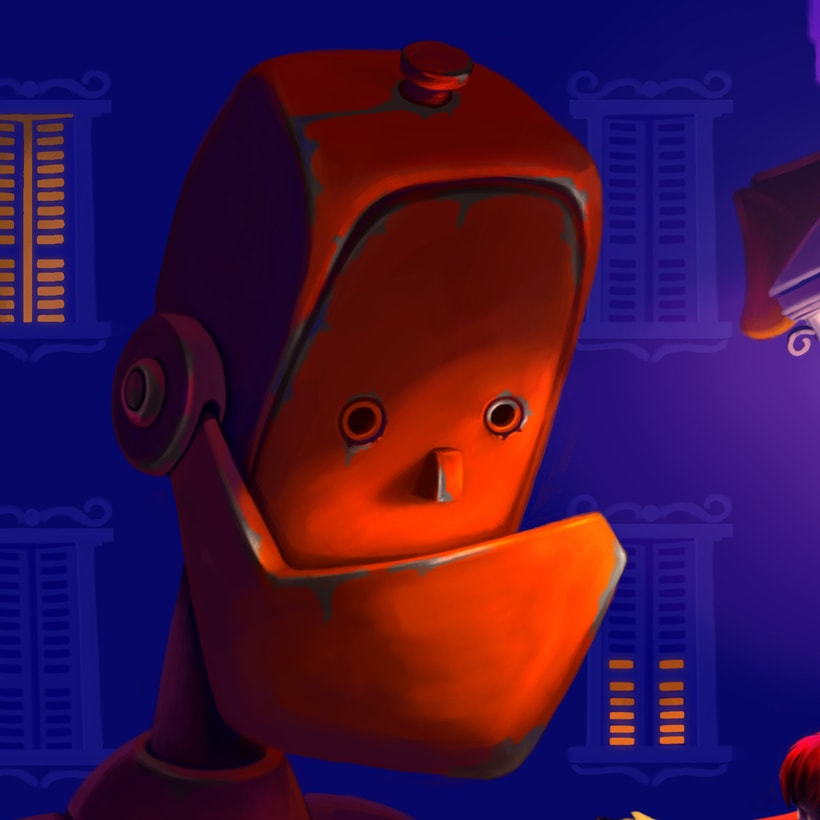 friendly robot 0