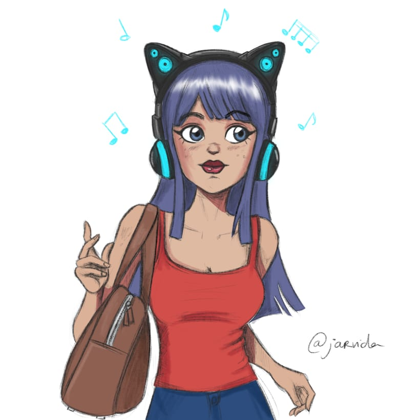 Cat headphones 0
