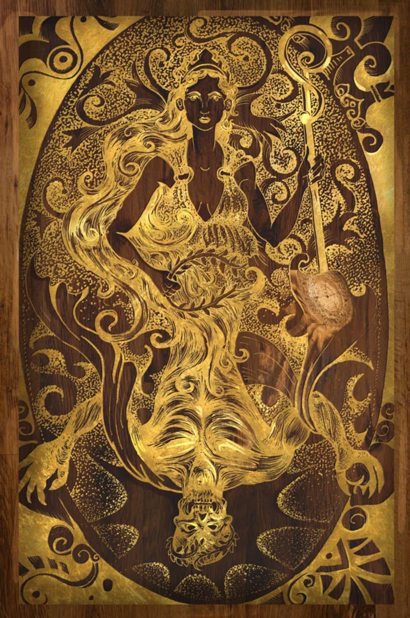 Concepto Hades y Perséfone 0