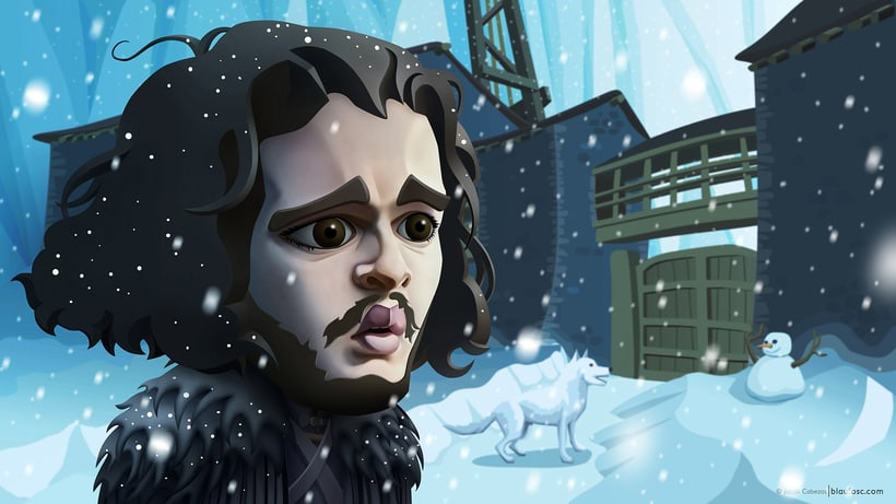 Game of Thrones Caricatures 1