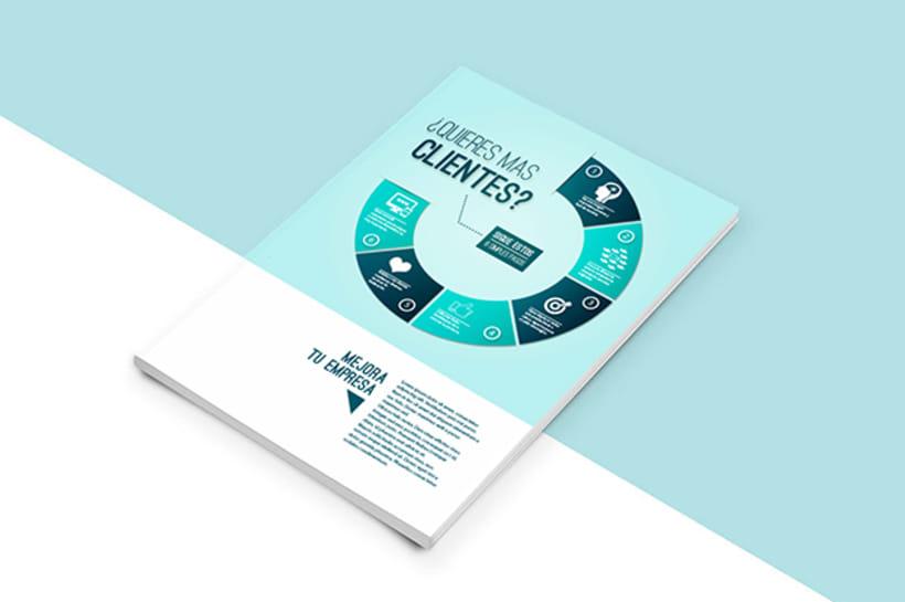 Infografía - Como conseguir clientes -1