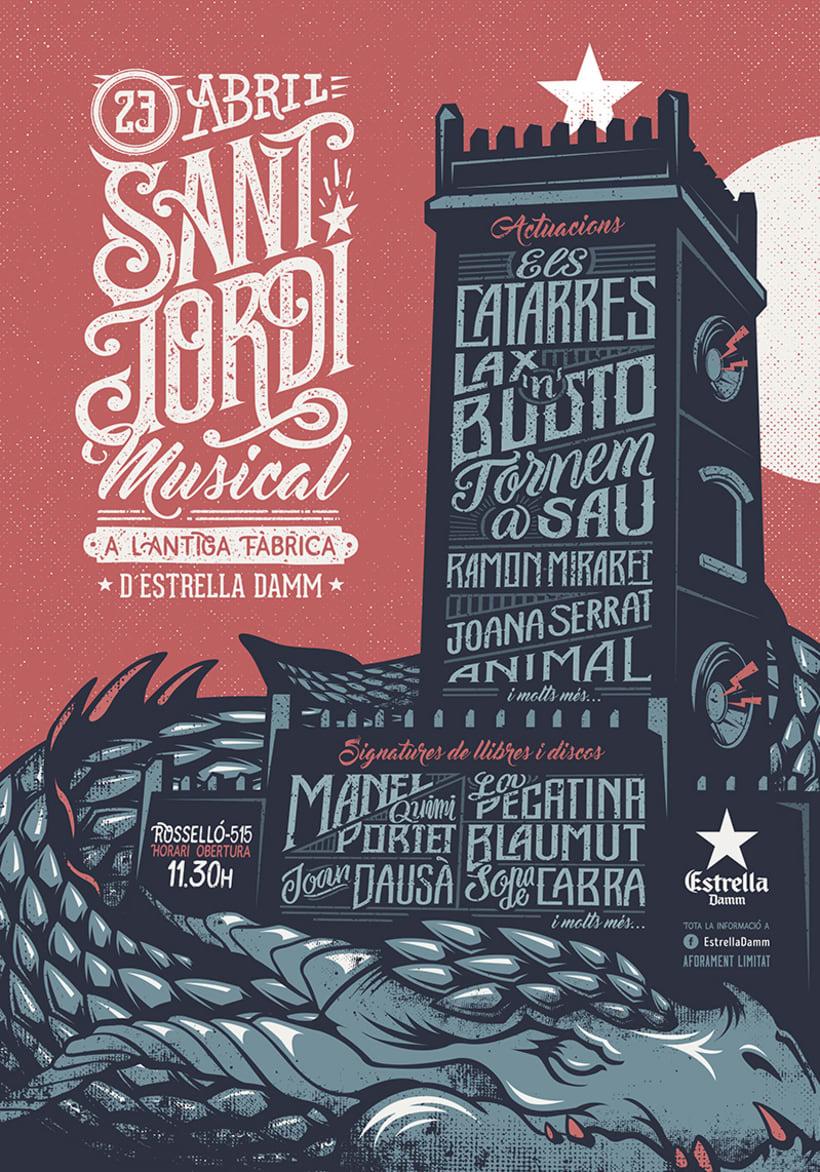 "Estrella Damm ""Sant Jordi Musical 2016 0"