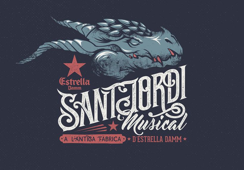 "Estrella Damm ""Sant Jordi Musical 2016 1"