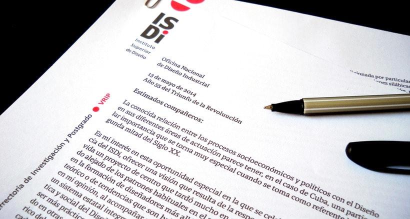Cuendias. Tipografía institucional del ISDi 8