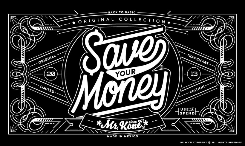Save Your Money. Collection 2013 3