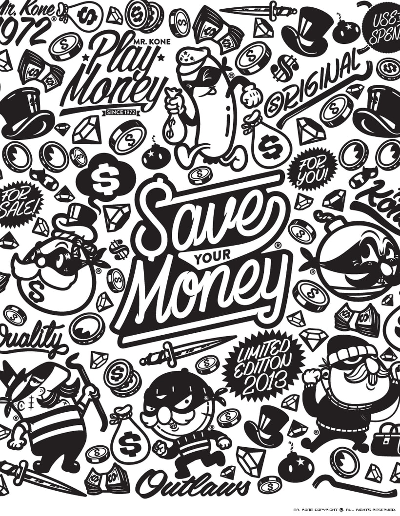 Save Your Money. Collection 2013 6
