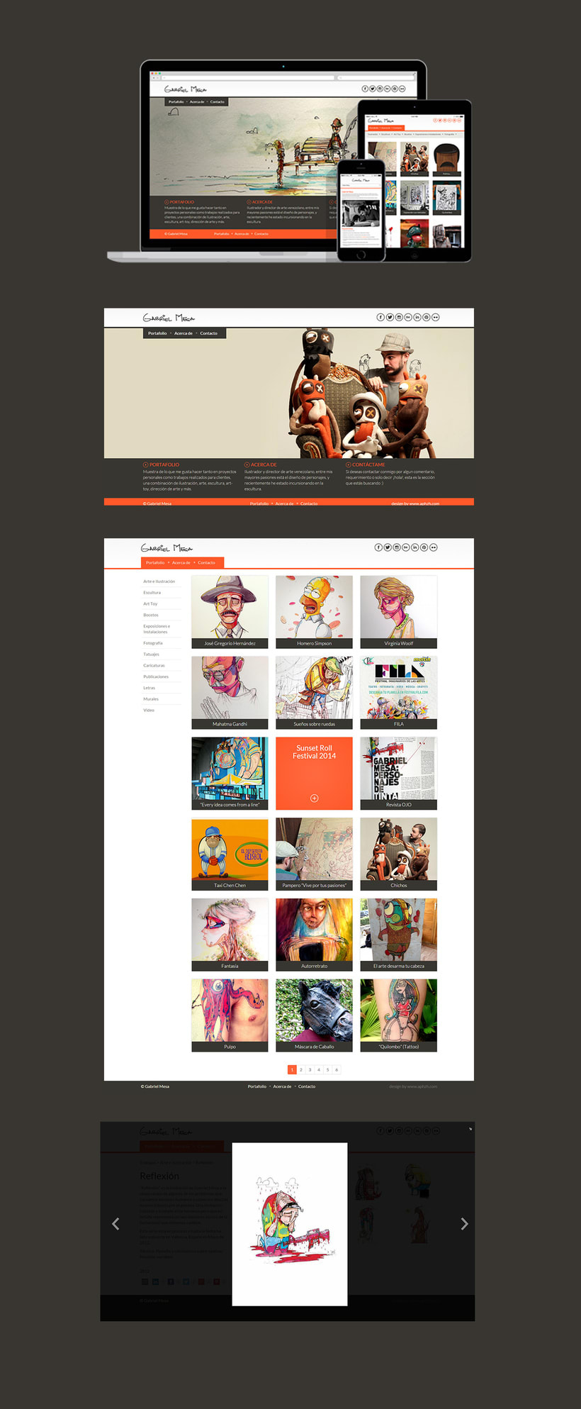 Gabriel Mesa - Graphic design and wordpress web development -1