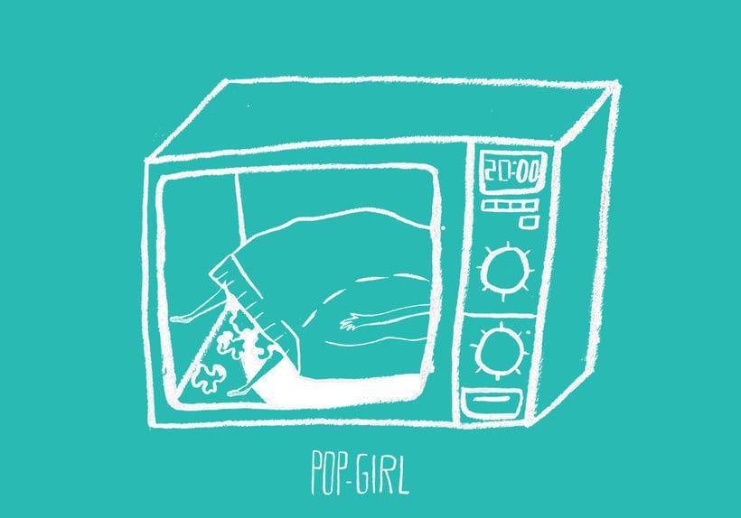 Pop-girl tote bag 7