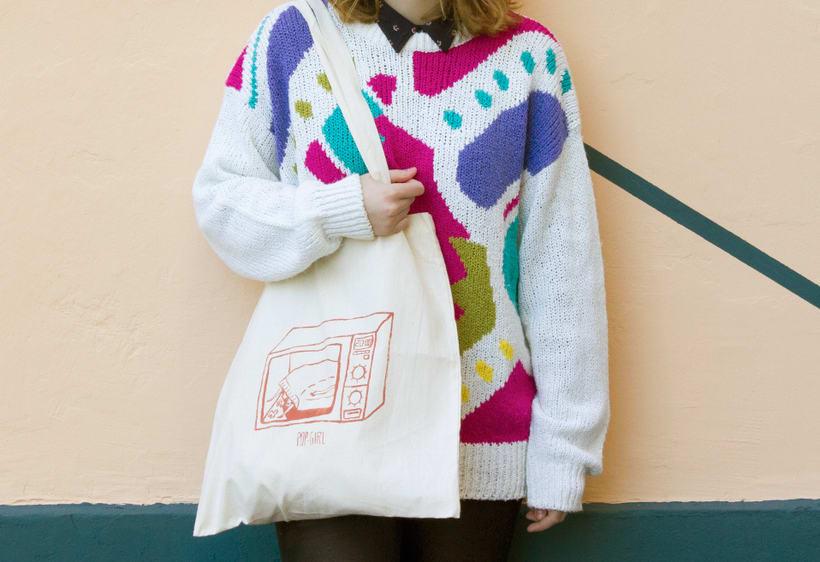 Pop-girl tote bag 4