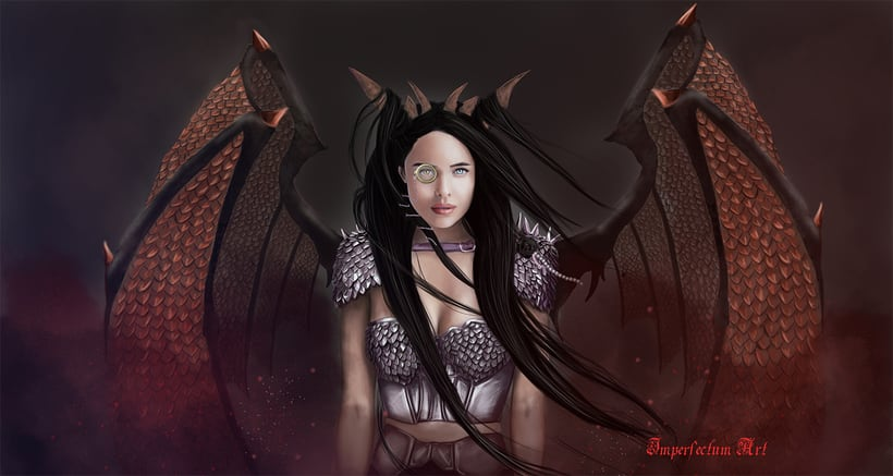 Lady dragon -1