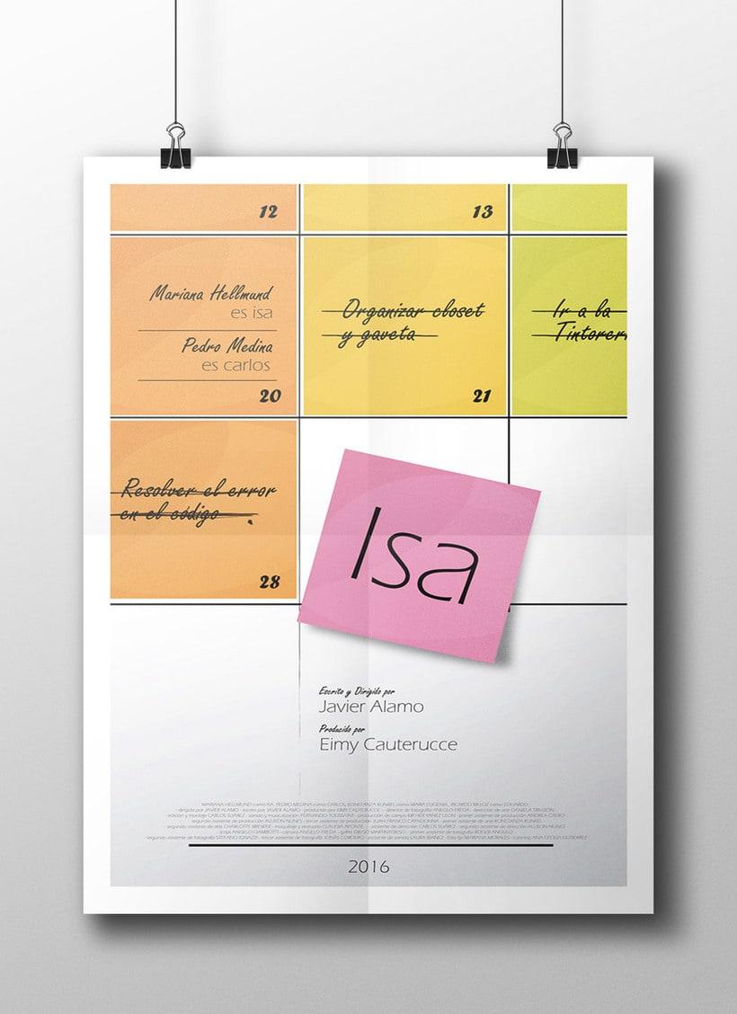 Producción del cortometraje ISA 0