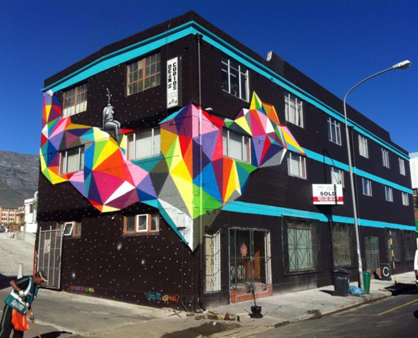 Okuda San Miguel y su arte geométrico  5