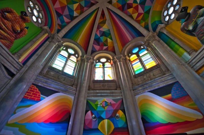 Okuda San Miguel y su arte geométrico  18