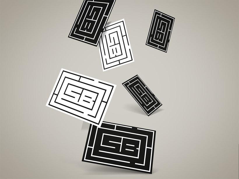 Monograma SB Graphic Design 0