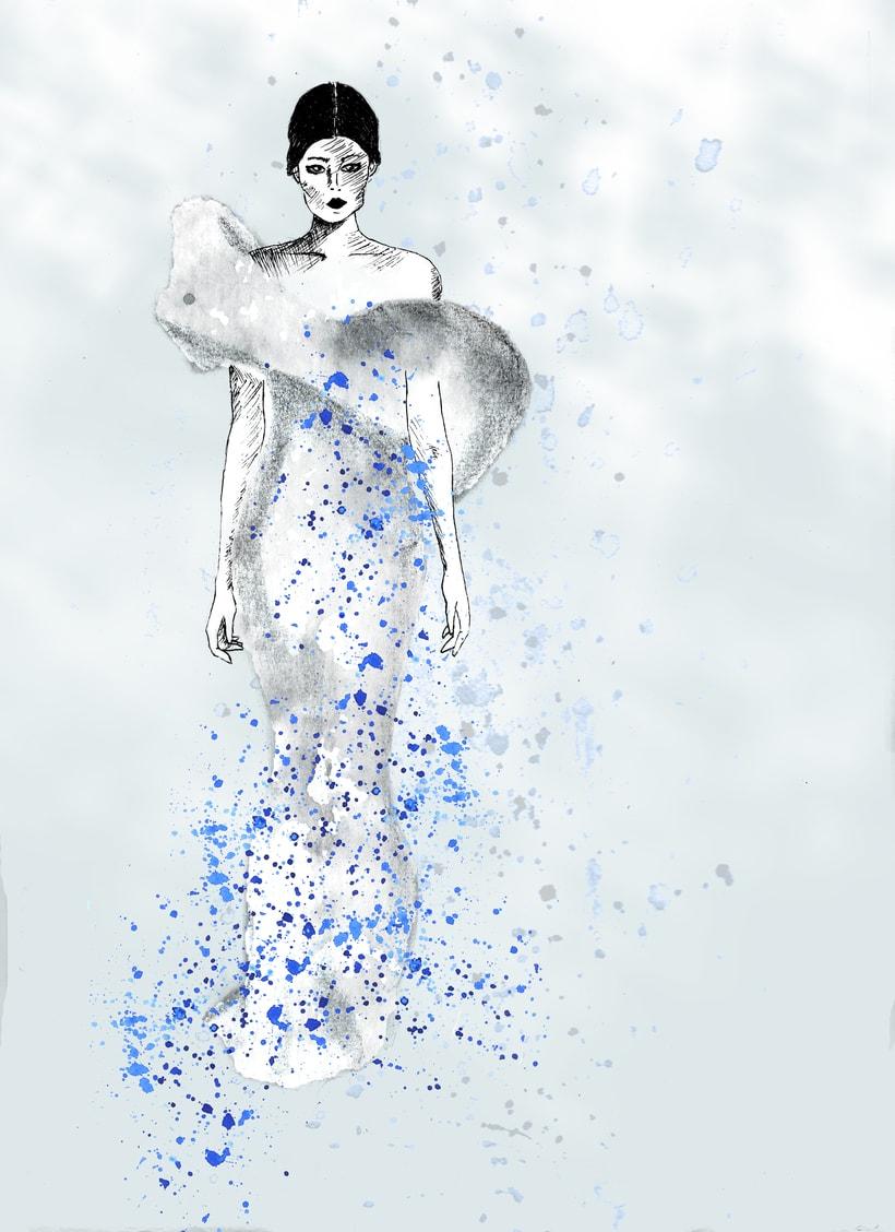 Ilustración de moda 0