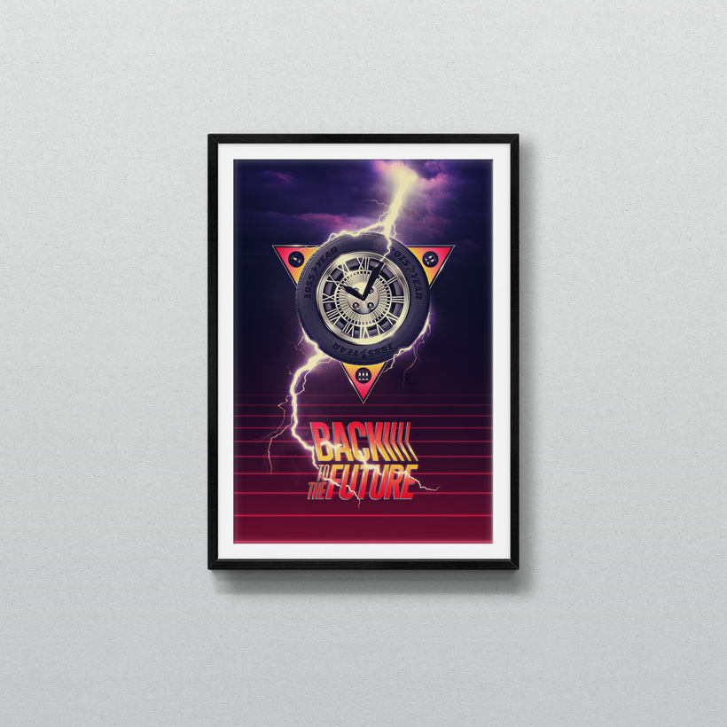 Back To The Future alternative poster 3