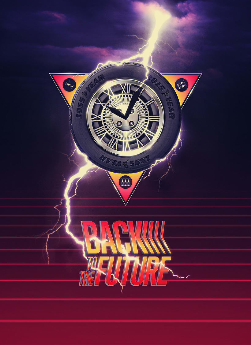 Back To The Future alternative poster 0