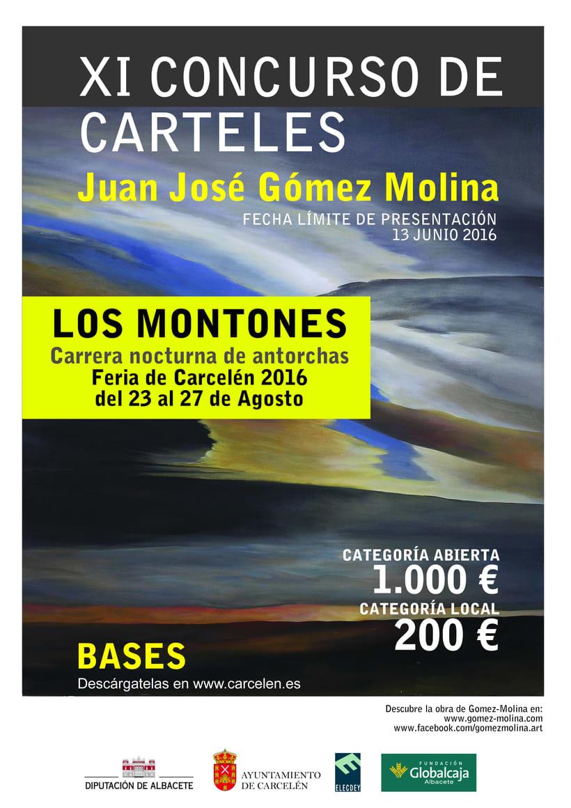 XI Concurso Carteles (1000€) Juan José Gómez Molina 1